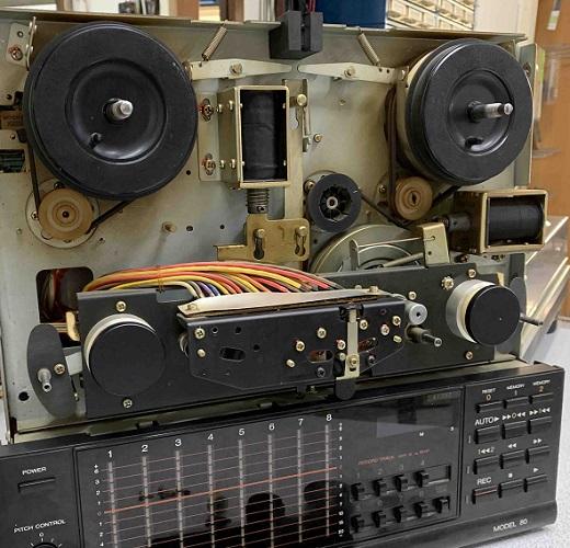 επισκευή μπομπινοφώνων fostex μοντελο 80