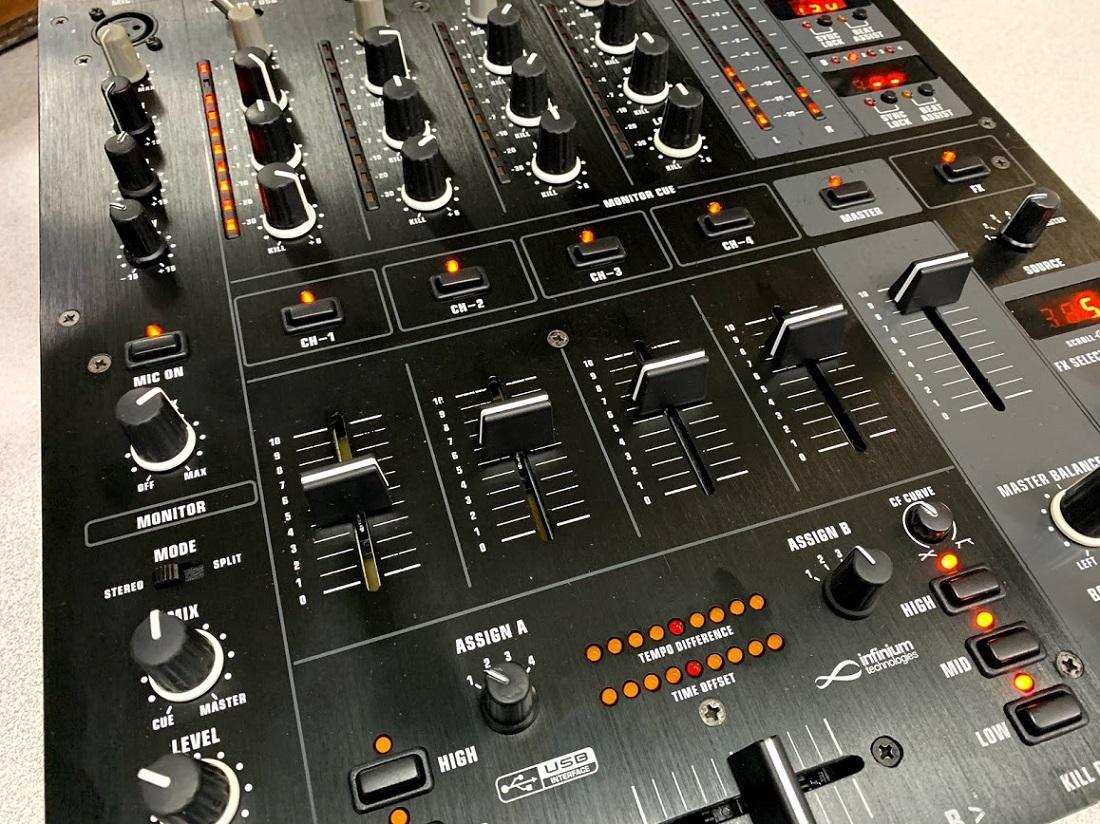 behringer djx 900-usb service sound