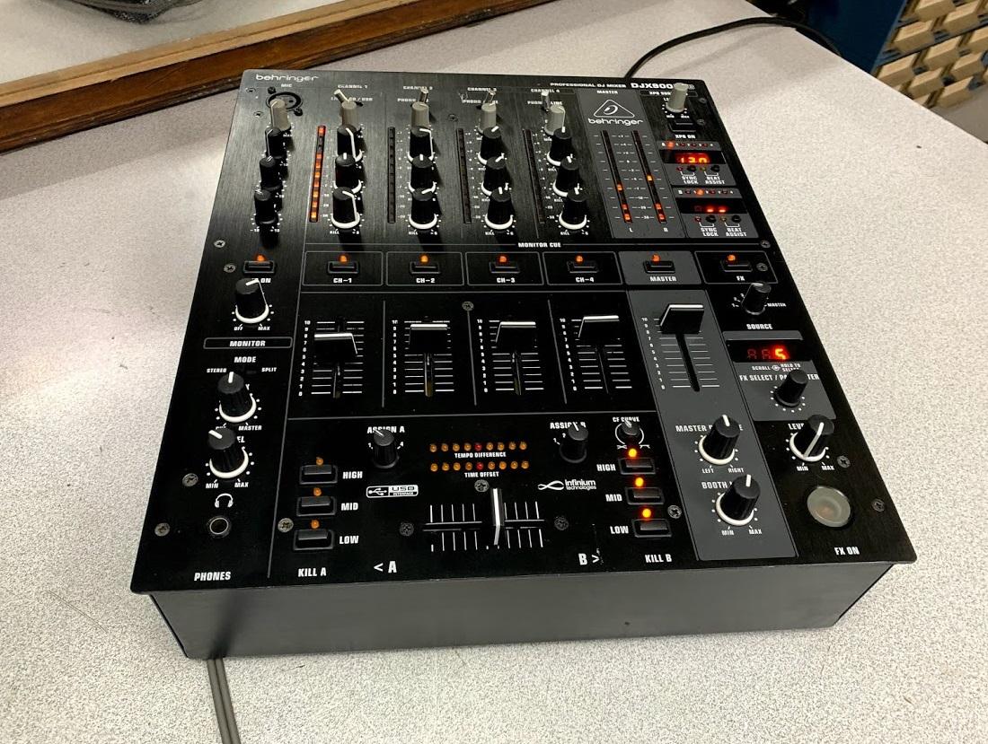 behringer djx900usb service sound