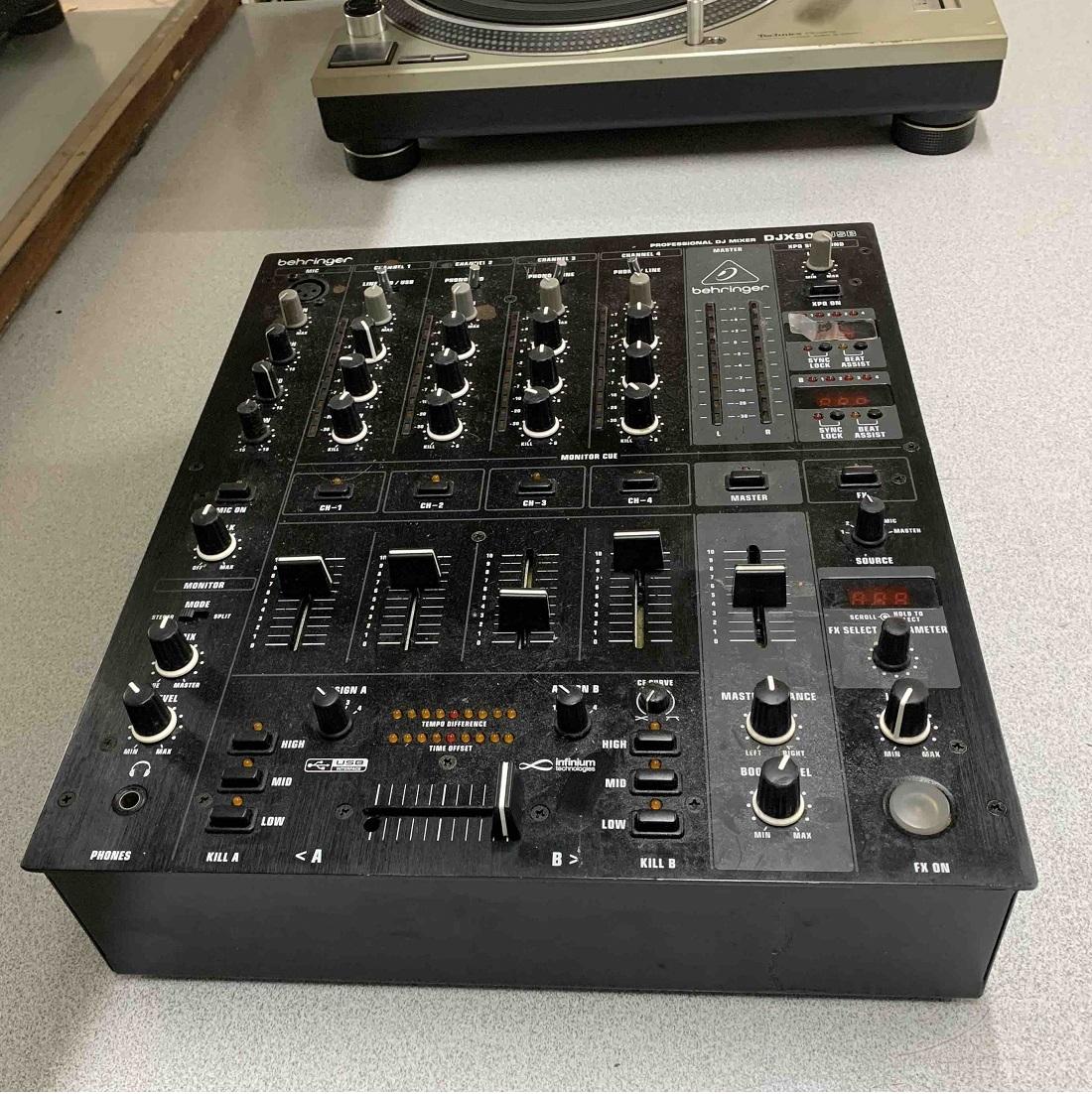 behringer djx-900usb