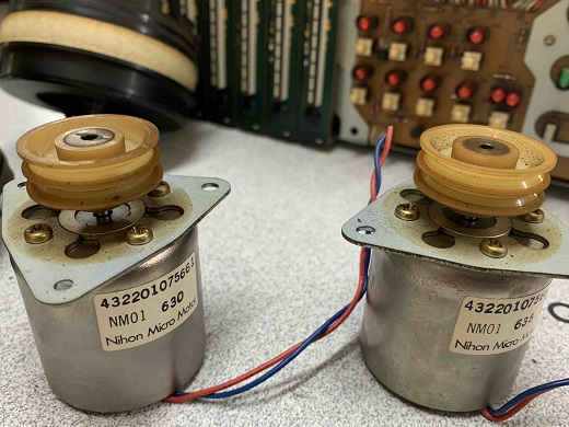 fostex reel to reel motors