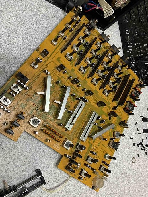 potensiometer behringer djx900usb