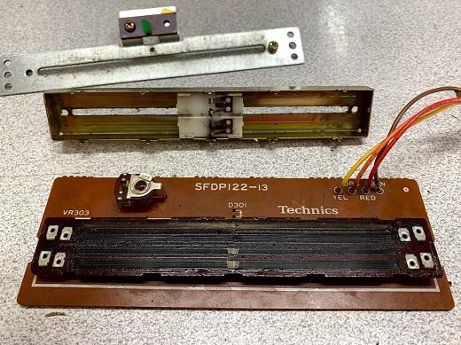 potensiometro pickup technics