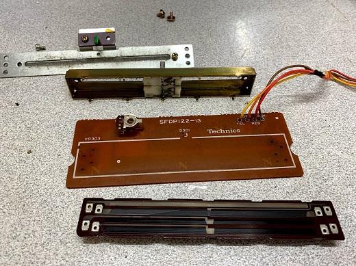 sl 1200 mk2 potensiometer