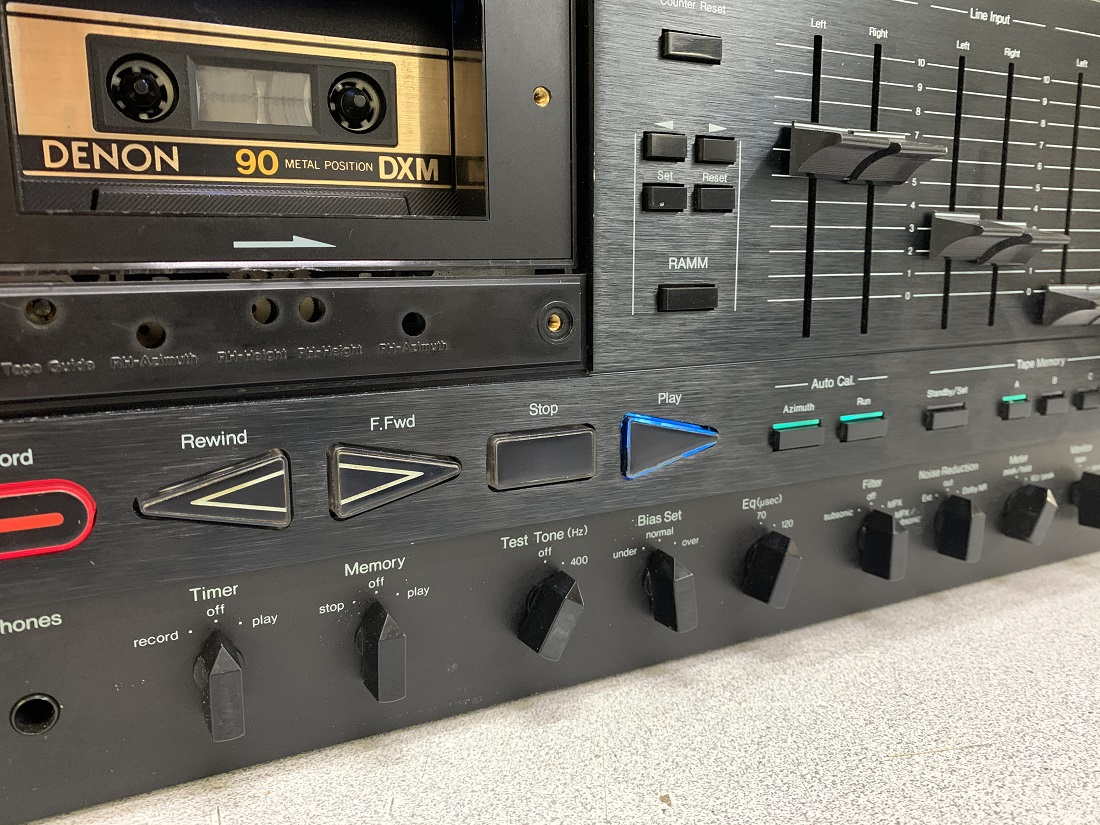 nakamichi 1000 zxl azimuth adjustment