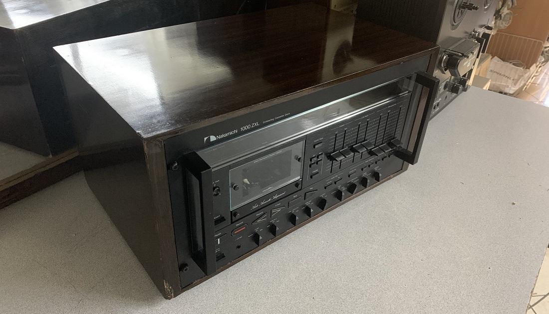 nakamichi 1000zxl service sound