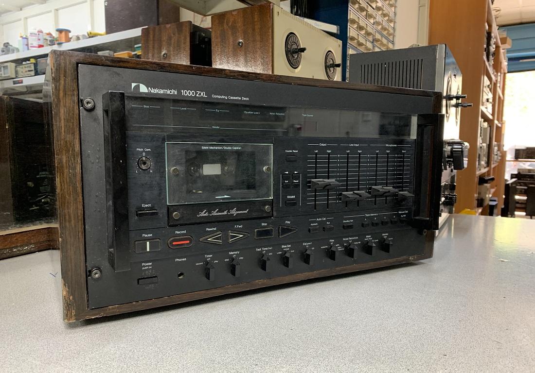 nakamichi 1000 zxl κασετόφωνο για επισκευή