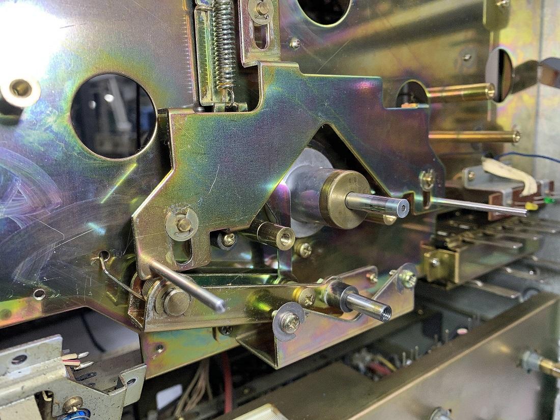 ΑΚΑΙ GX-635D καθαρισμός μηχανισμού