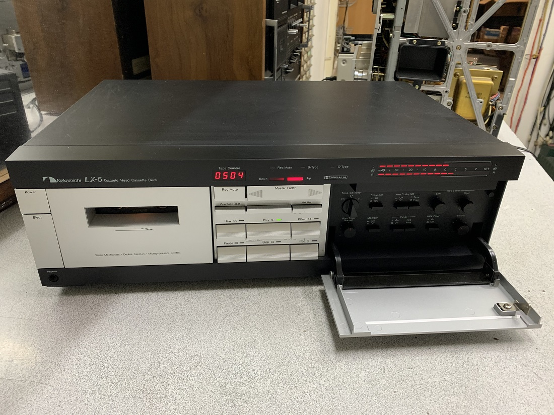 Nakamichi lx-5 cassete deck