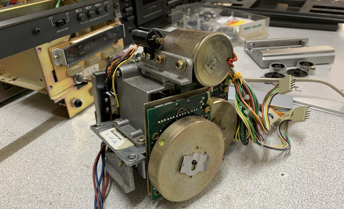 επισκευή μηχανισμου κασετοφωνου ρεβοξ