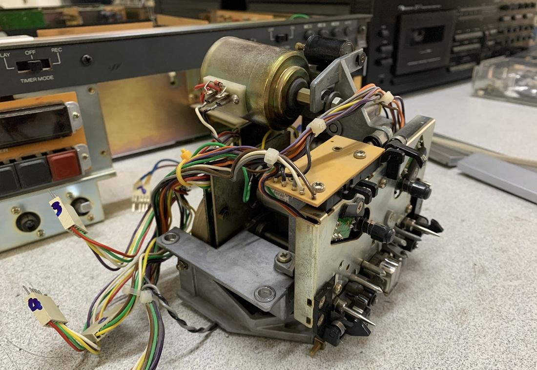 μηχανισμός κασετοφώνου revox b710