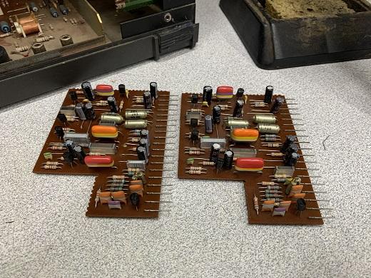 preamplifier board n4520 philips reel to reel