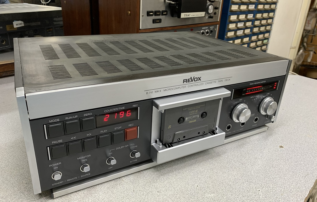 service sound.gr revox b-710