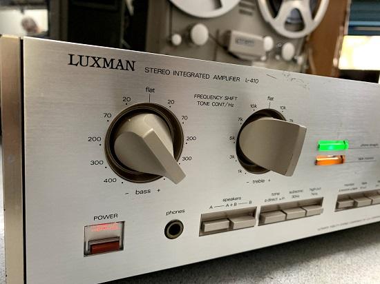 επισκευή ενισχυτή luxman l410